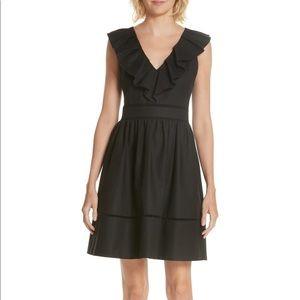 Kate Spade Ruffle Neck Dress
